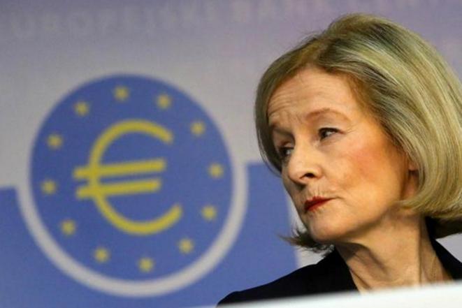 Danièle Nouy, présidente des instances européennes de régulation bancaire © DR