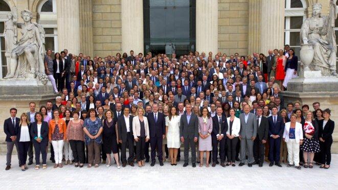 Séminaire des députés LREM à l'Assemblée, le 24 juin. © Twitter/@enmarchefr