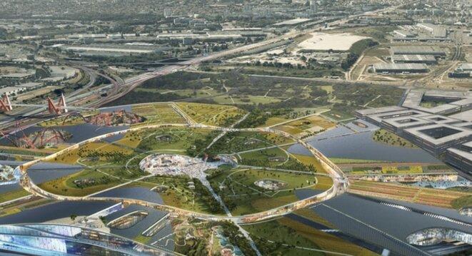 Visualisation du projet Europa City (DR)