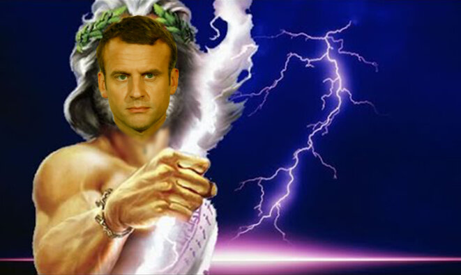 Macron as Jupiter