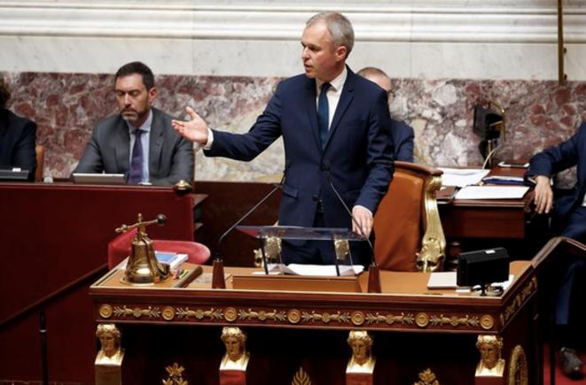 François de Rugy, mardi 27 juin à l'Assemblée nationale © Reuters