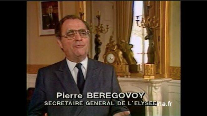 Pierre Bérégovoy au journal de 20h (janvier 1982).