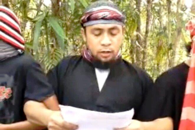 L'émir Isnilon Hapilon. © (capture d'écran vidéo)