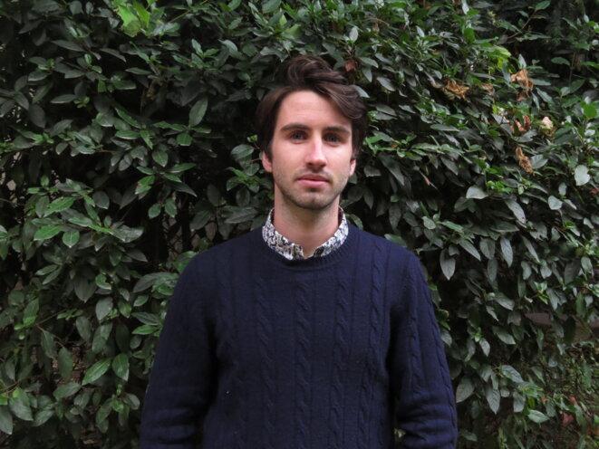 """Yann, Président de l'association """"SciencesPo RefugeeHelp"""" © Association Sciences-Po"""