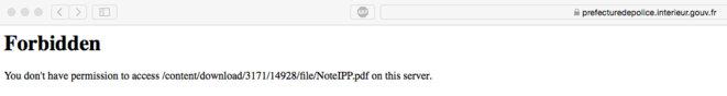 "Quand on tape ""IPPP"" dans Google : ""Accès interdit"""