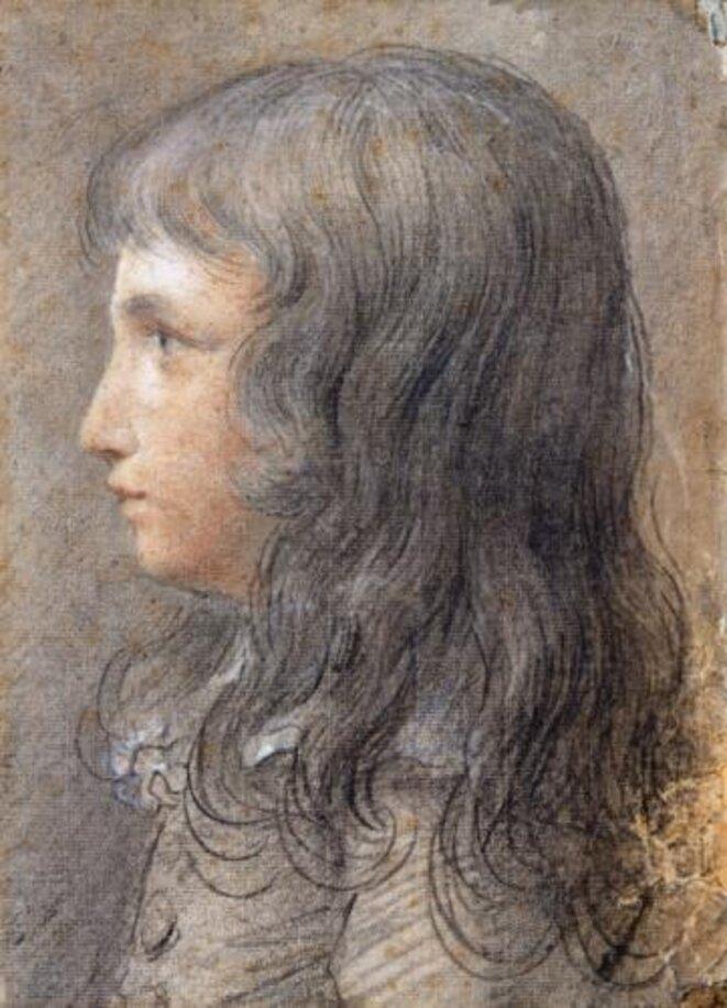 Louis XVII (1785-95) Dessin anonyme, Musée Carnavalet, Paris