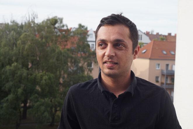 Mohammed Mhawes se donne tous les moyens pour s'intégrer dans la société allemande. © AP