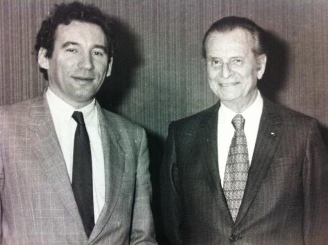 François Bayrou et Jean Lecanuet