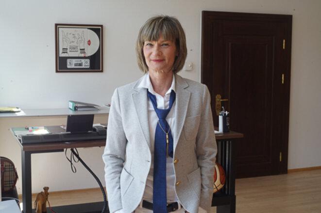 Barbara Ludwig, maire de Chemnitz depuis 2006 © AP