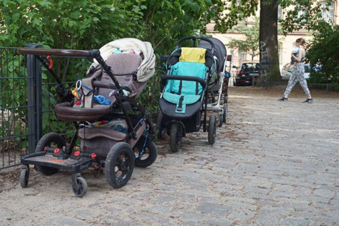 En Allemagne, le taux de natalité stagne à 1,5 enfant par femme depuis les années 1970. © AP