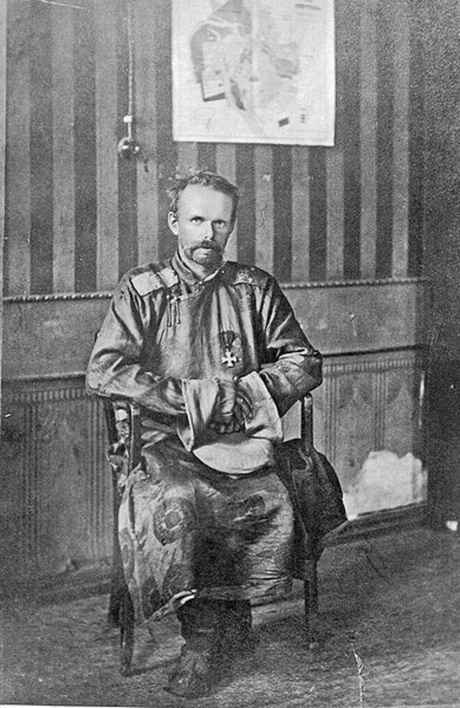 Le baron Roman von Ungern-Sternberg. © (dr)