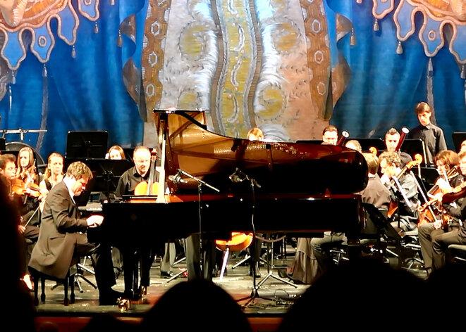 Denis Matsuev en concert le 30 juin 2017 au Mariinsky-2