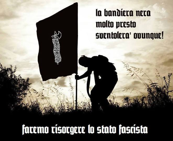 """"""" Nous ferons renaître l'Etat fasciste """""""