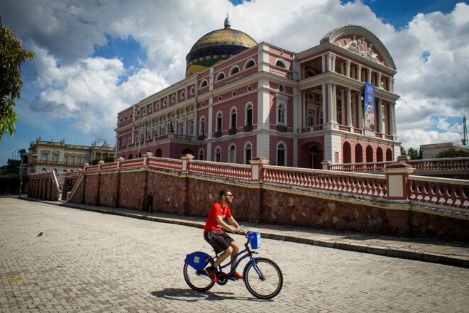 L'opéra de Manaus, qui donne toujours des concerts © Thomas Cantaloube
