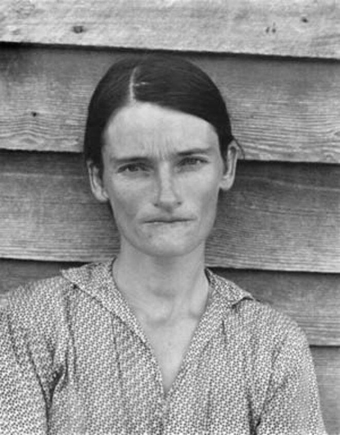 Alice Mae Burroughs - Alabama, été 1936 © Walker Evans