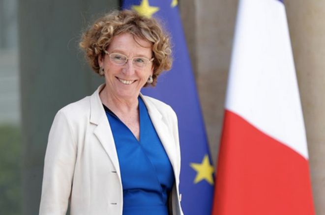 Muriel Pénicaud, à l'Elysée, le 28 juin 2017 © Reuters