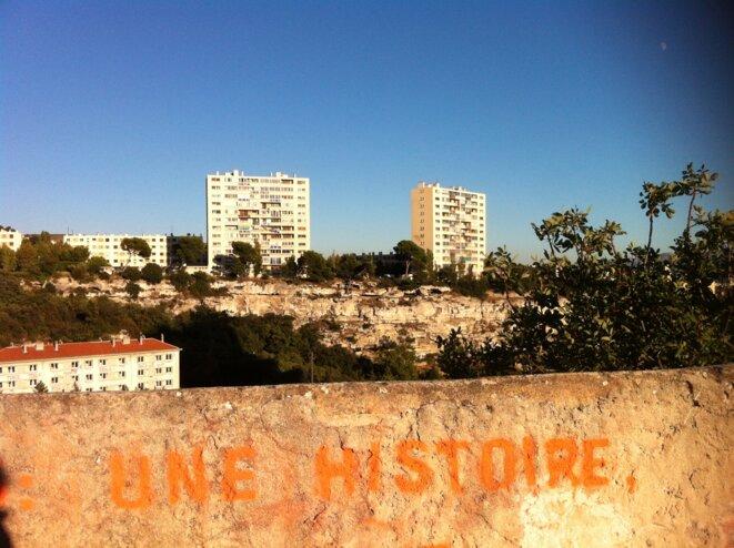 Cité des Créneaux à Marseille, 2013 © LF