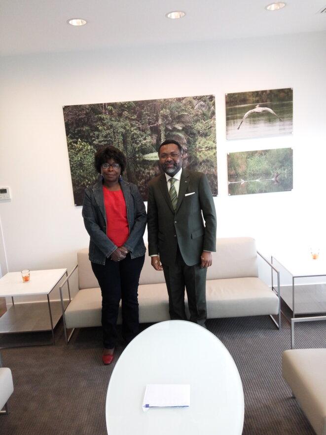 Son Excellence M. Flavien Enongoué, le nouvel Ambassadeur du Gabon en France & AM DWORACZEK-BENDOME