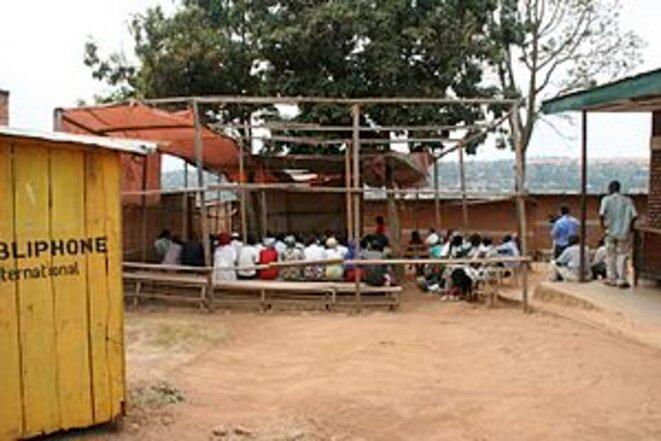 Un tribunal Gacaca au Rwanda en 2008