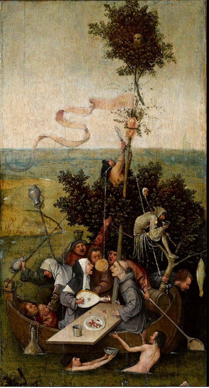 La Nef des fous [Le Louvre]