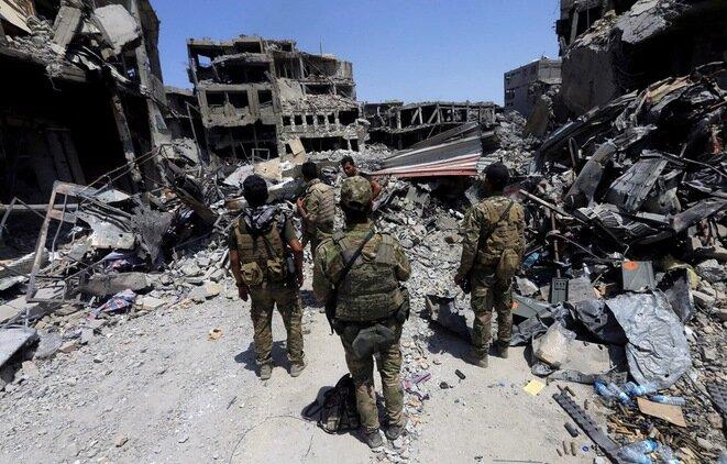 En Mosul, el 9 de julio de 2017. © REUTERS/Alaa Al-Marjani
