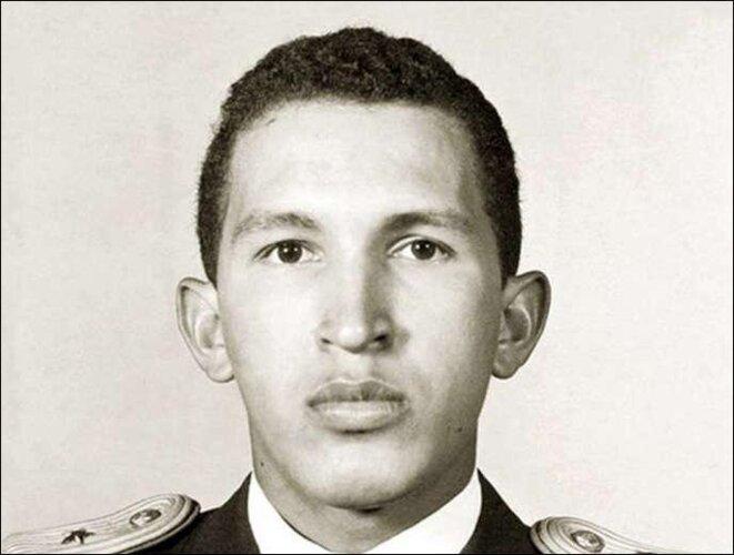 Hugo Chavez à l'académie militaire