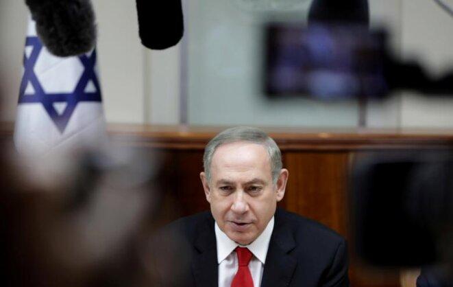 Benjamin Netanyahou, premier ministre israélien © Reuters