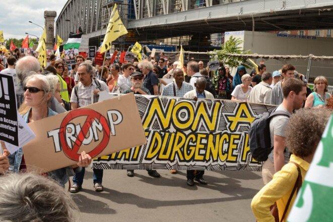 """Manifestation """"Front Social"""""""