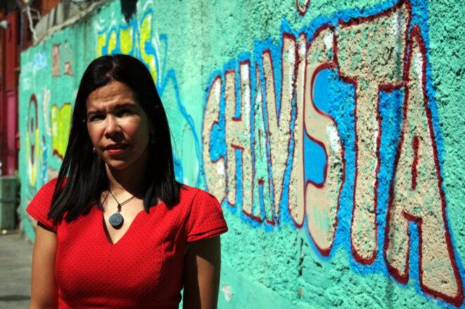 L'ancienne défenseure du peuple, Gabriela Ramirez, s'oppose à l'Assemblée constituante © JB.Mouttet