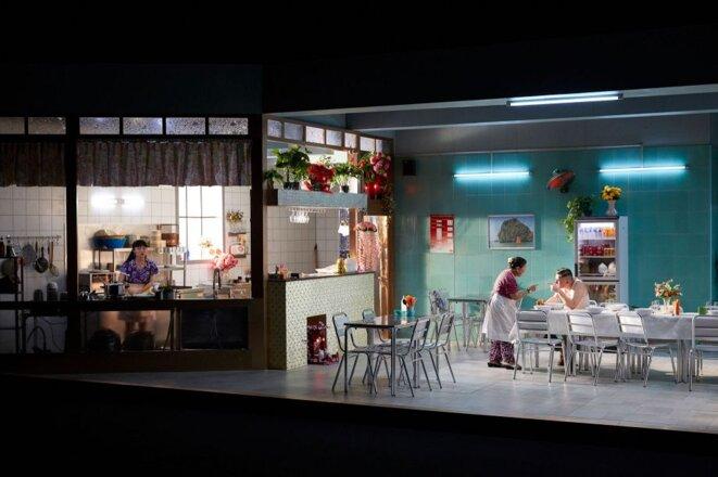 "Scène de ""Saïgon"" © Christophe Raynaud de Lage"