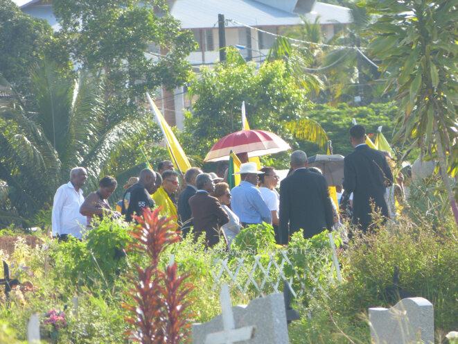 Plantaj Éli Brème (le 15 juillet, Cayenne). (crédit photo : Raymond Charlotte)