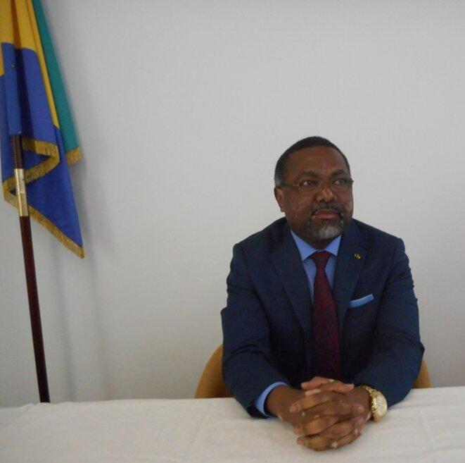 S.E.M. Flavien Enongoué, Ambassadeur, Haut Représentant de la République Gabonaise en France, Représentant permanent du Gabon auprès de l'Organisation internationale de la Francophonie (OIF)