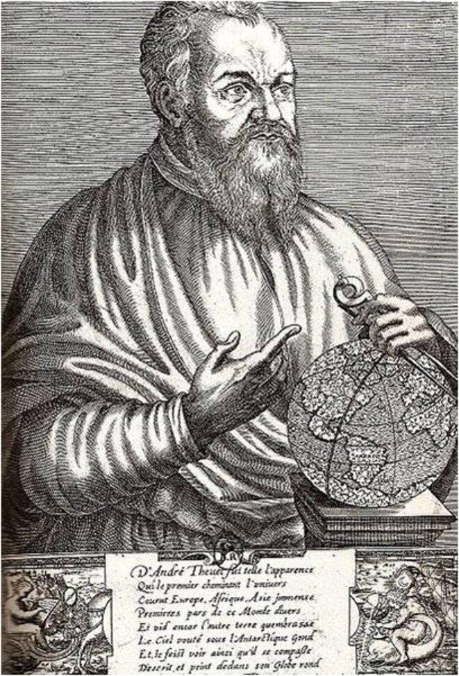 André Thevet (estampe de Thomas de Leu)