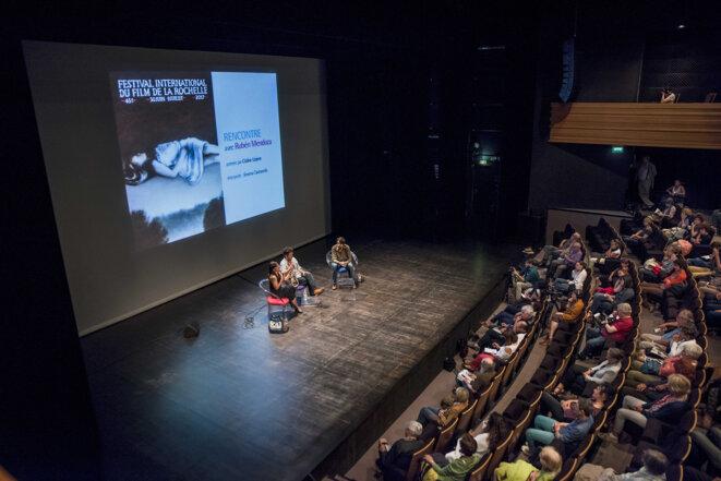 Rencontre avec Rubén Mendoza au Festival International du Film de La Rochelle 2017 © Jean-Michel Sicot