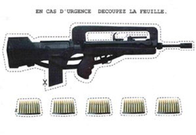 Nouveau fusil Le Macron FSA © G