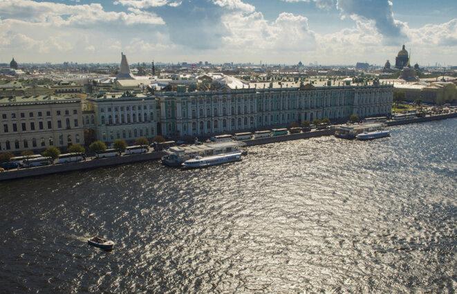 Le musée de l'Ermitage, à Saint-Pétersbourg. © Reuters