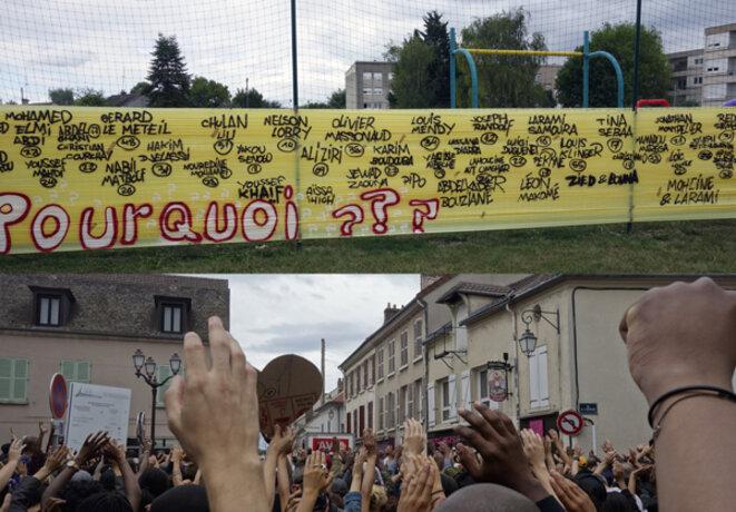 Marche en mémoire d'Adama Traoré le 23 juillet 2017