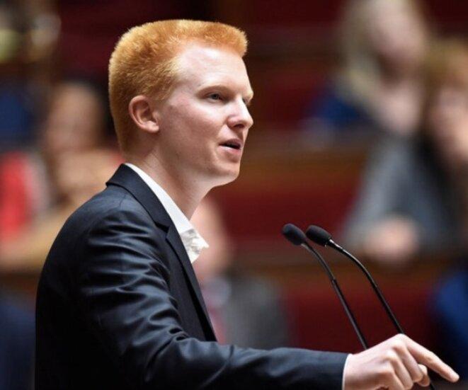 Adrien Quattennens, à l'Assemblée © Charles Platiau/Reuters