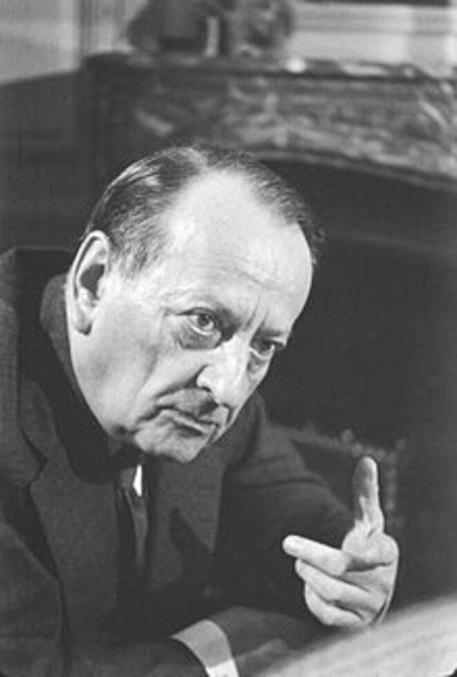 André Malraux photographié par Roger Pic