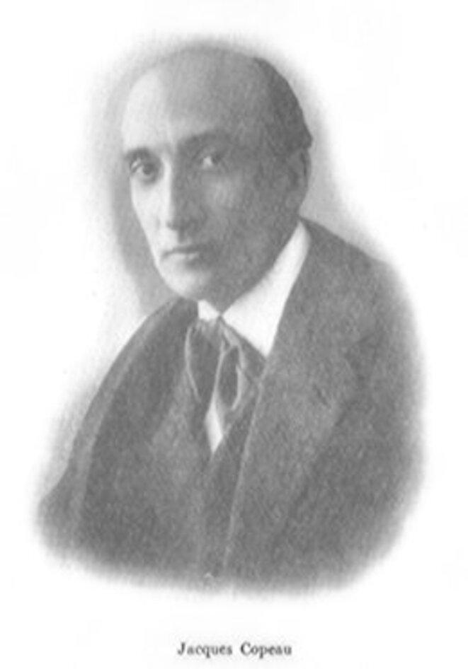 Jacques Copeau en 1917