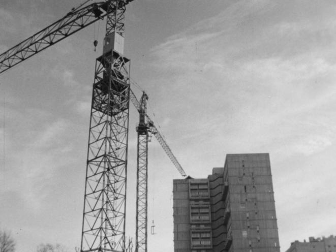 La rénovation urbaine du centre d'Ivry dans les années 1970