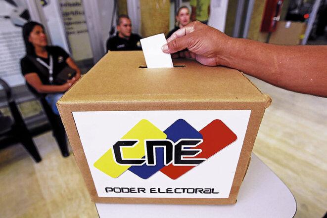 Vote lors de l'élection présidentielle de 2013