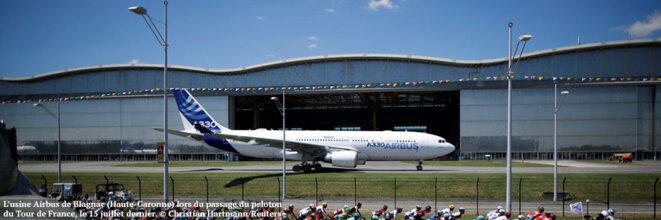 Airbus is one of Europe's flagship industrial groups.