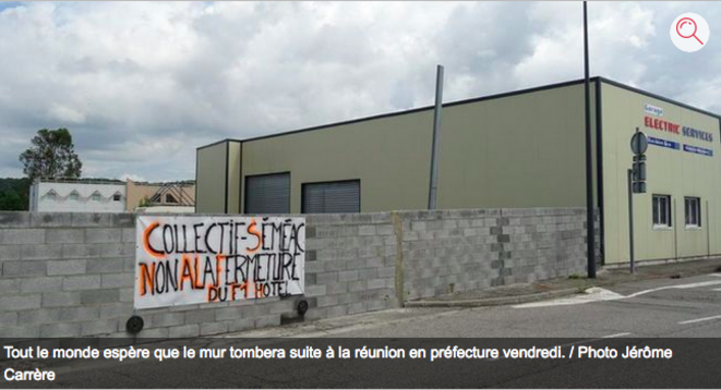 Le mur de la honte © Jérôme Carrère