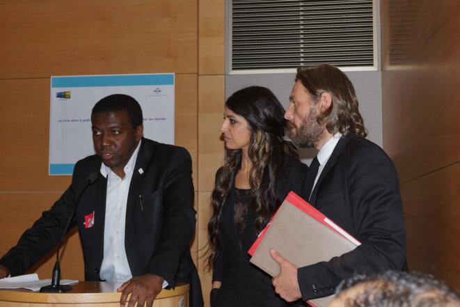 Ouverture du COLLOQUE avec Ibrahim Sorel Keita et Thierry Paul Valette