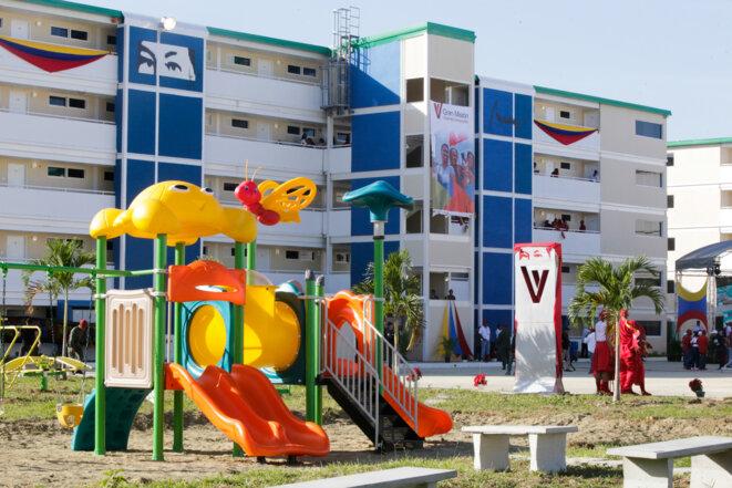 Inauguration de logements dans le cadre de la Gran Mision Vivienda en 2016
