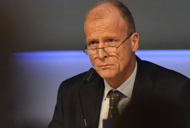 El alemán Thomas Enders, PDG de Airbus Group (ex-EADS) desde mayo de 2012. © Reuters