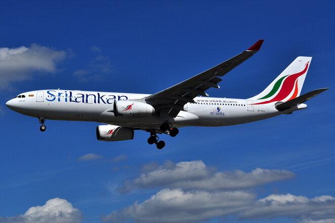 Uno de los Airbus A330 comprados en 2013 por SriLankan Airlines en el marco de una venta por valor de 2,3 mil millones de dólares. Esta operación es, desde hace dos años, objeto de una investigación por corrupción. © Wikimedia / Creative Commons