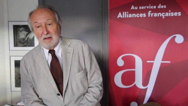 Jérôme Clément, président de la fondation de l'Alliance française © DR