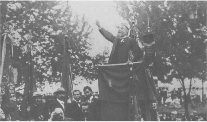 Jean Jaurès à Stuttgart (1907)